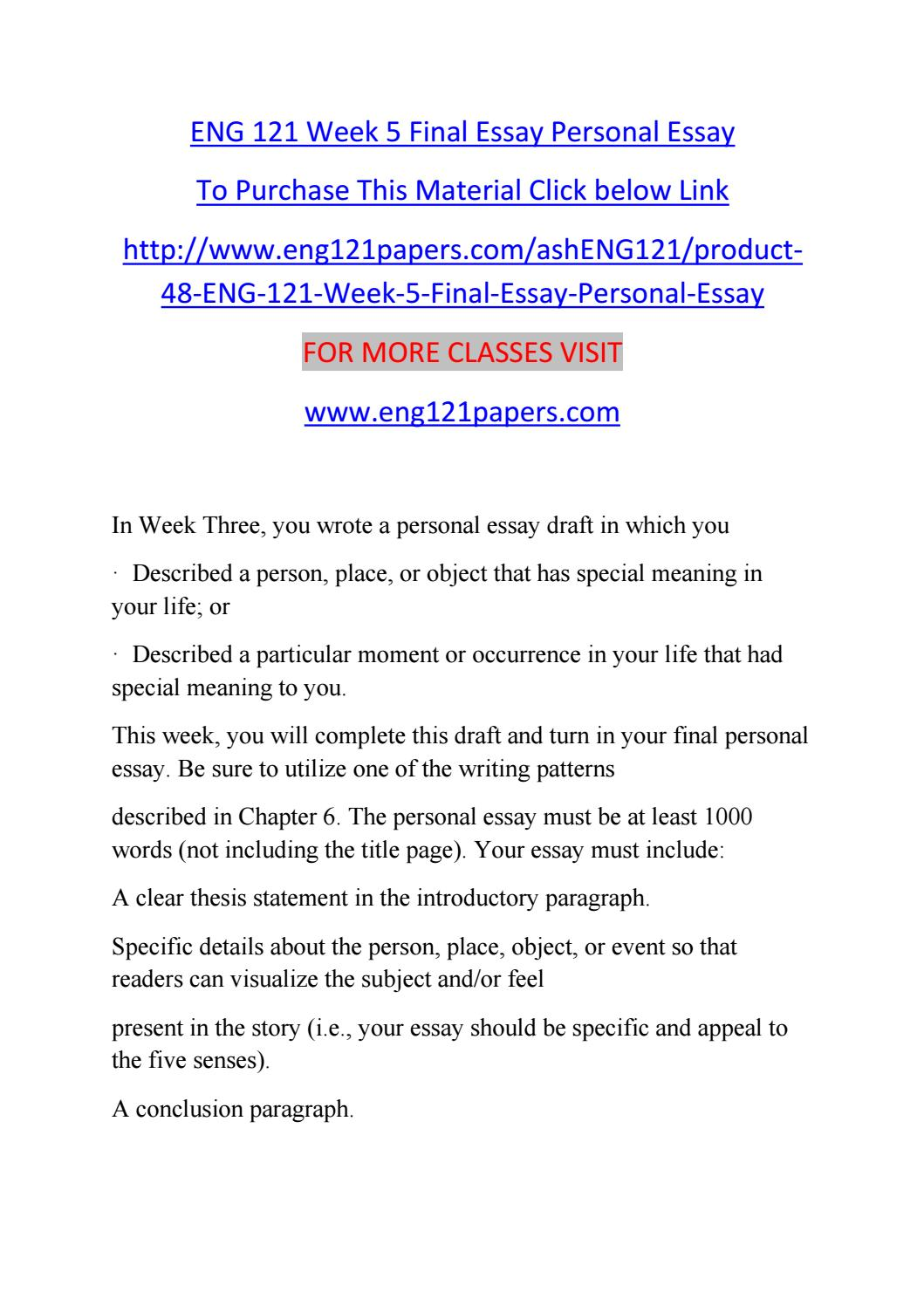 Sample of a five paragraph essay with an explicit thesis