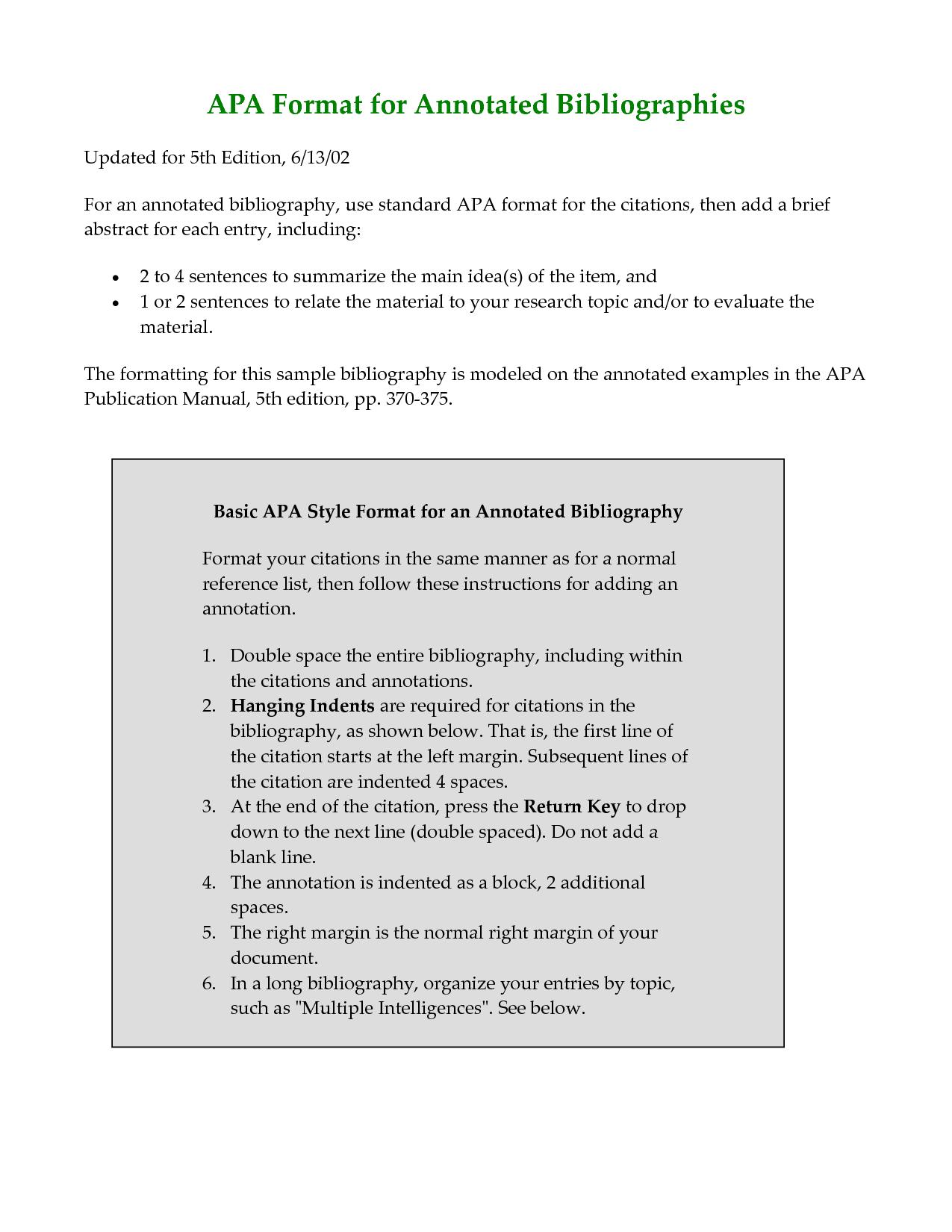Bibliographic essay topics