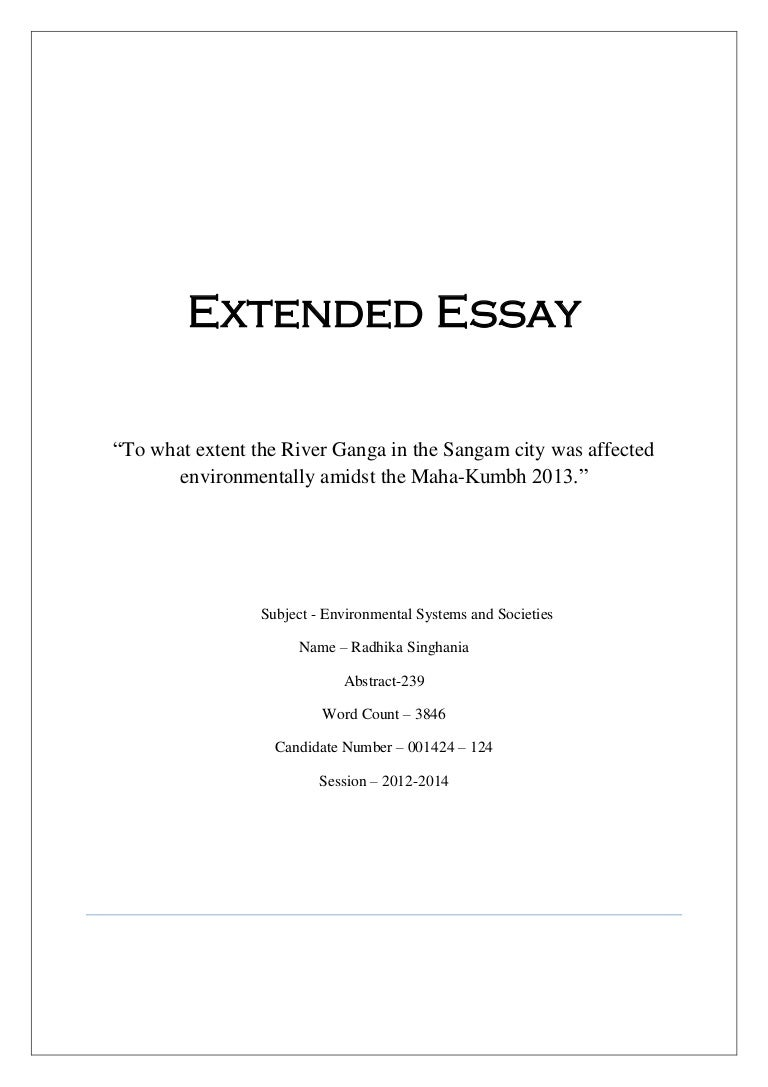 Buy an extended essay