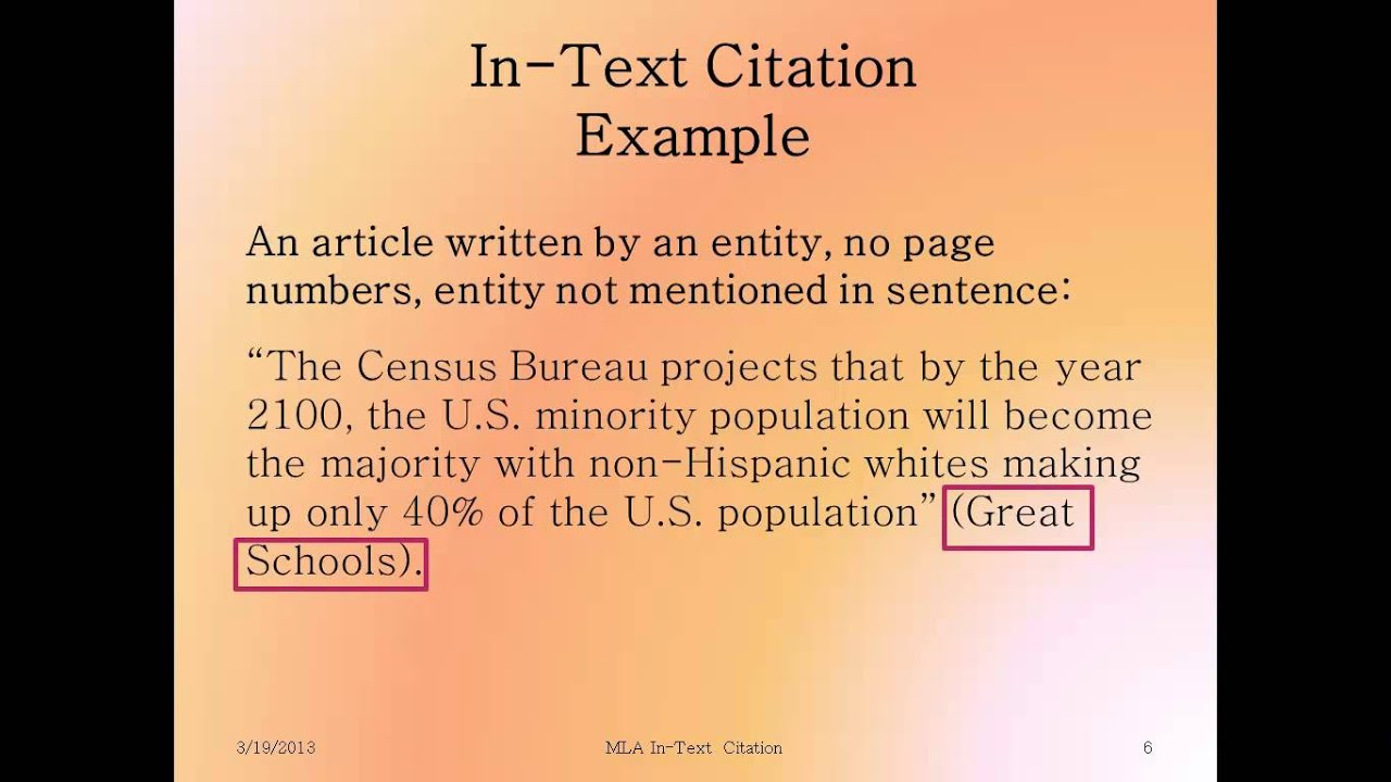How to cite an essay in mla