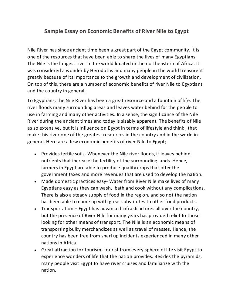 Egyptian civilization essay
