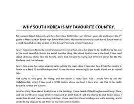 Essay about south korea