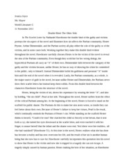 The Scarlet Letter Essay Examples - Free Symbolism, Analysis Essays and Research Papers