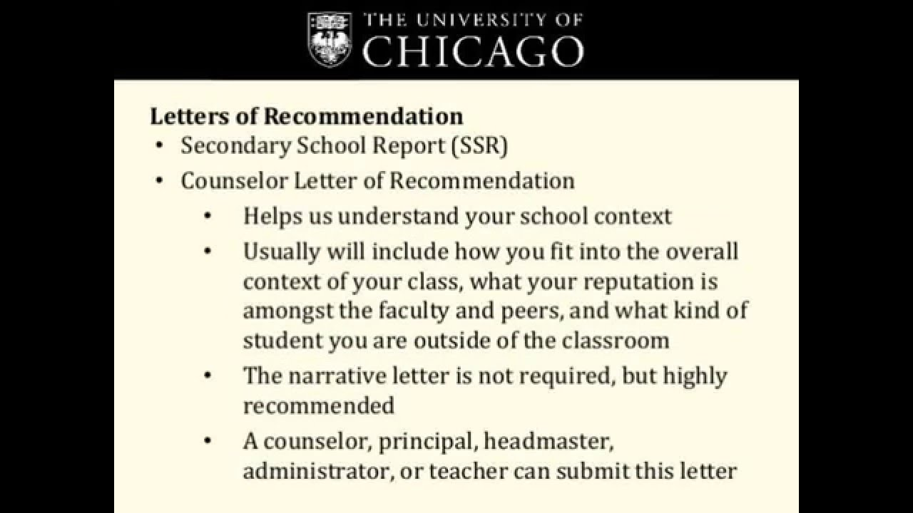 UChicago Supplemental Essay Questions | College Admissions
