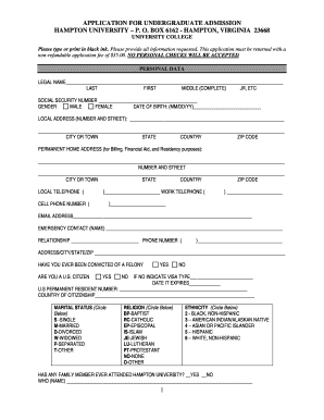 The Type of Doctor I Want to Be | Hampton University Undergraduate Application Essay | GradeSaver