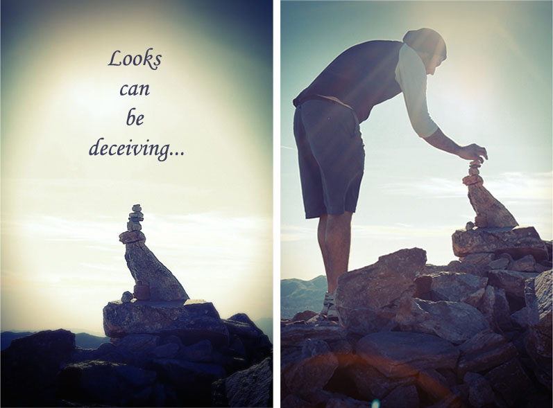 Looks can be deceiving meaning
