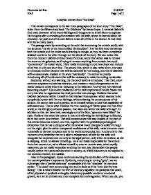 Written assignment ib english