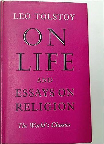 An essay on life