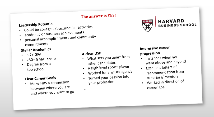 Harvard admissions essay question